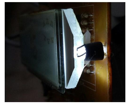 fixing lcd glass break