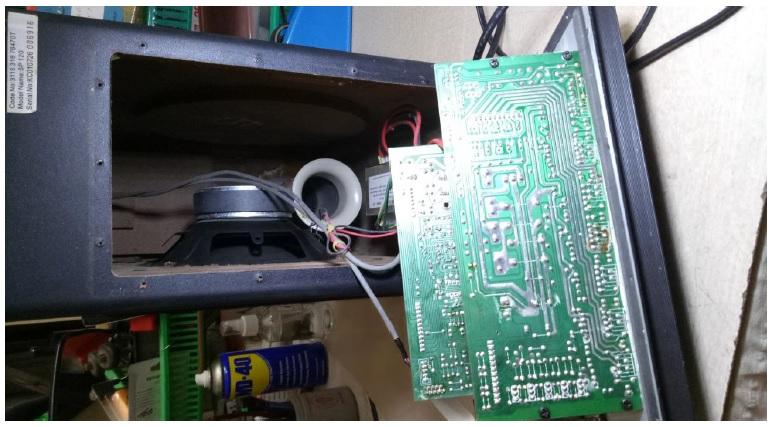 fix speaker system
