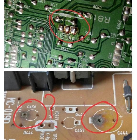 how to repair crt tv