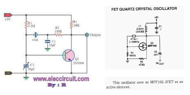 quartz crystal tester diagram