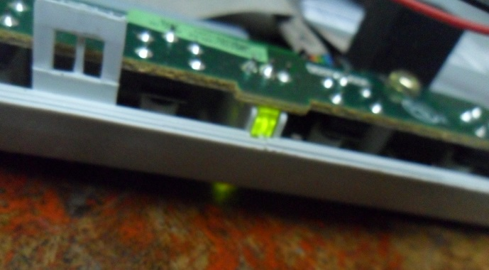 green led in lcd monitor