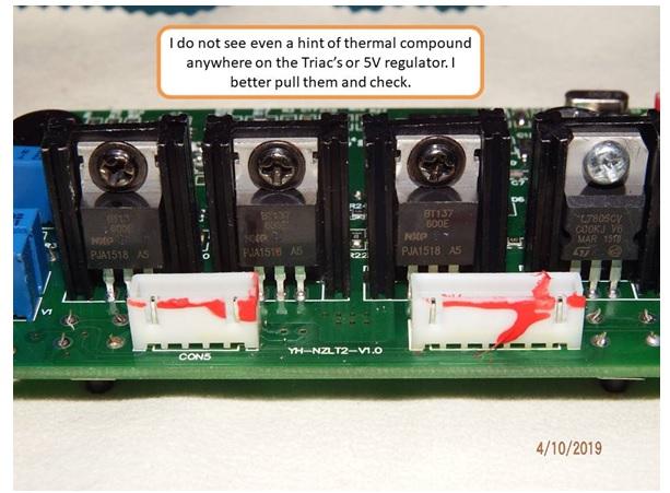 soldering station mainboard fix