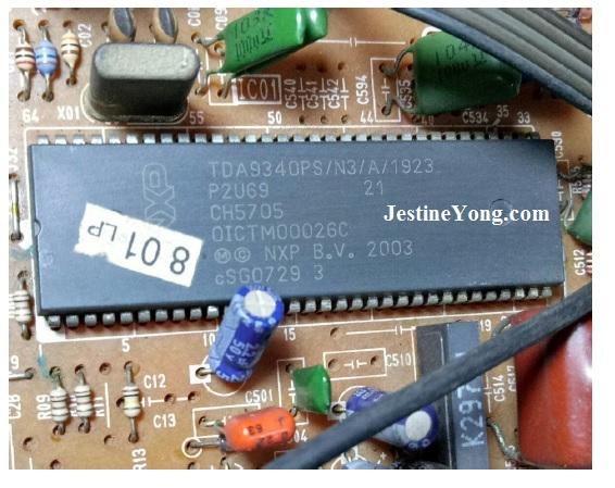 tda9340ps ic