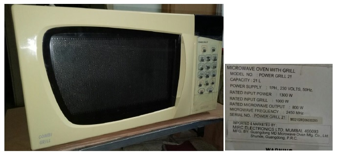 onida microwave oven repair