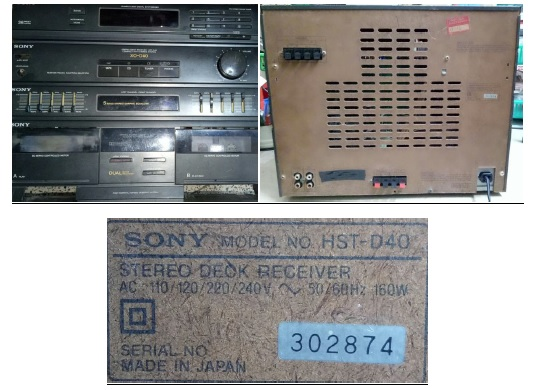sony stereo deck repair