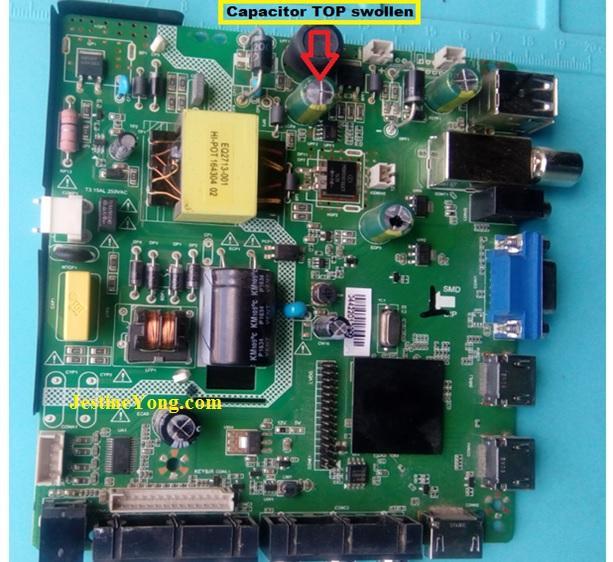 led tv board repair