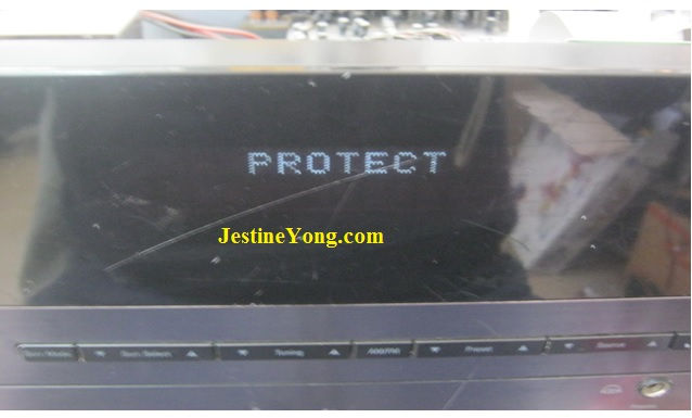 protect mode amplifier repair