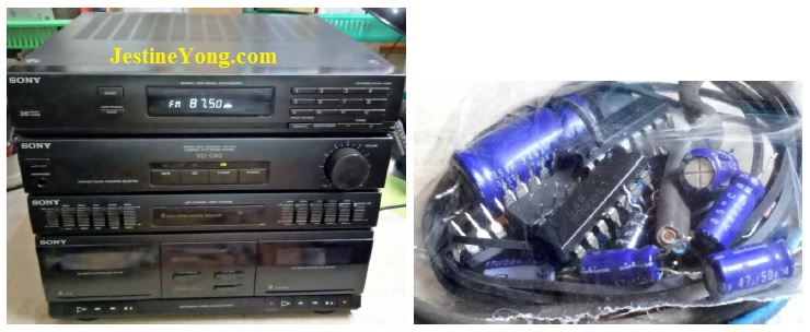 how to fix sony stereo deck