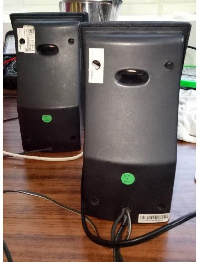 frontech multimedia speaker repair and fix