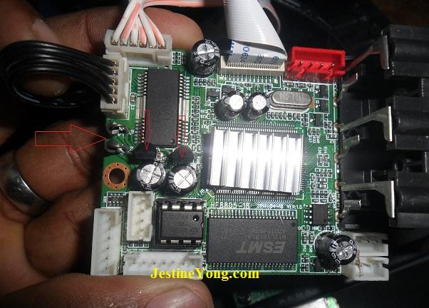 dvd player mainboard repair