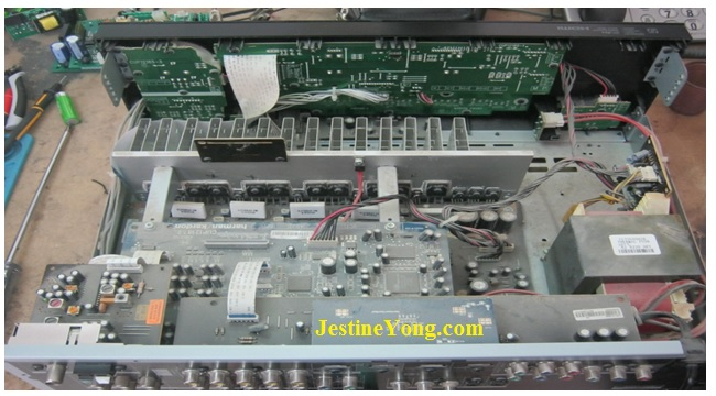 protect mode amplifier repair and fix