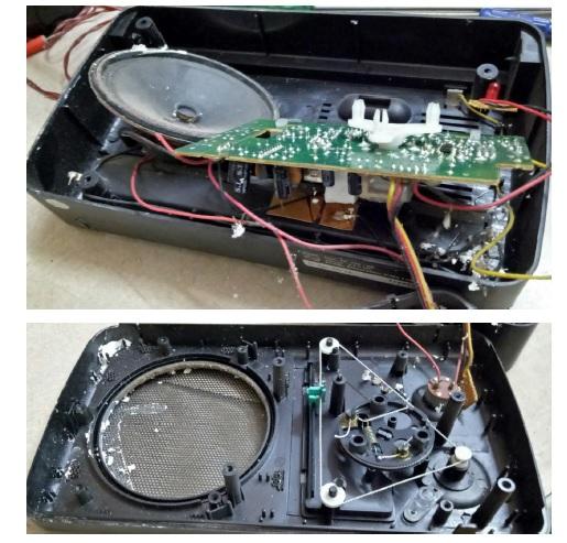 how to repair philips radio