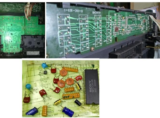 sony stereo deck repair