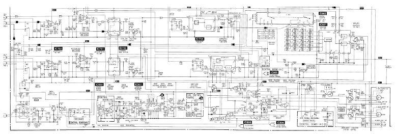 stereo deck complex circuit