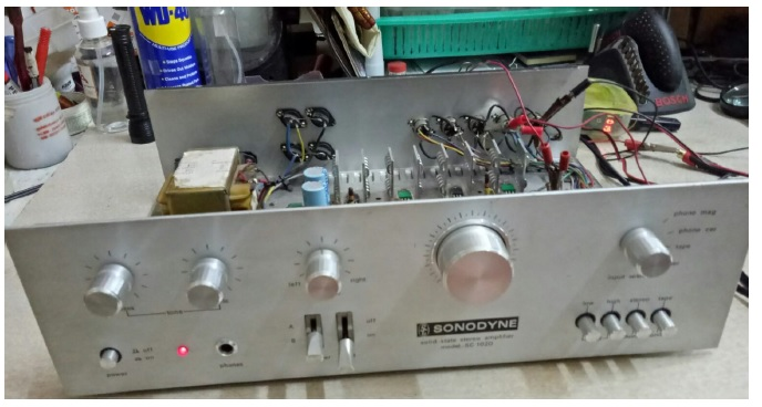 amplifier fixed