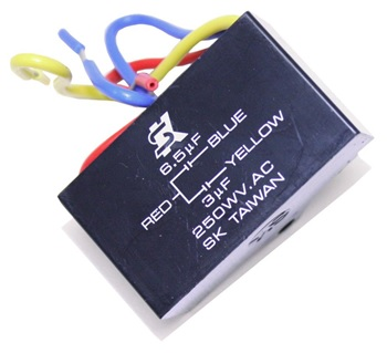 capacitor leads