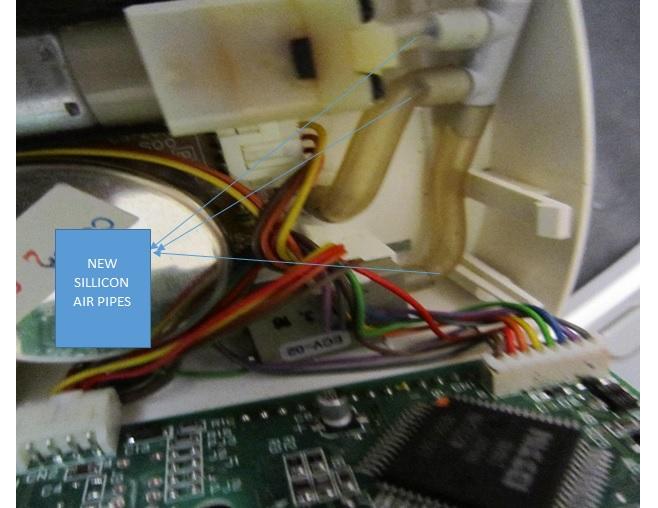 blood pressure monitor circuit fix and repairing