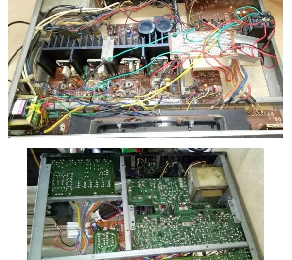 amplifier protection circuit repair