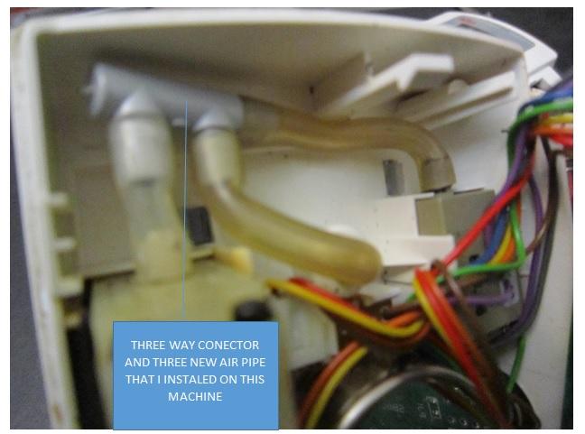 blood pressure monitor circuit board repair