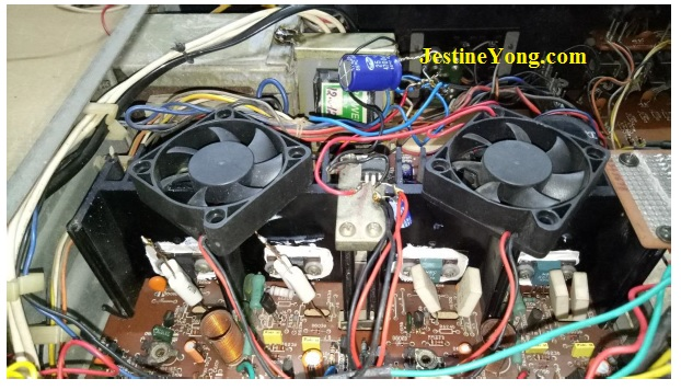 how to repair protection circuit in amplifier