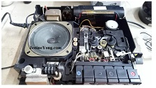 SMART WASP In Antique SONY Tape Recorder TC-520CS