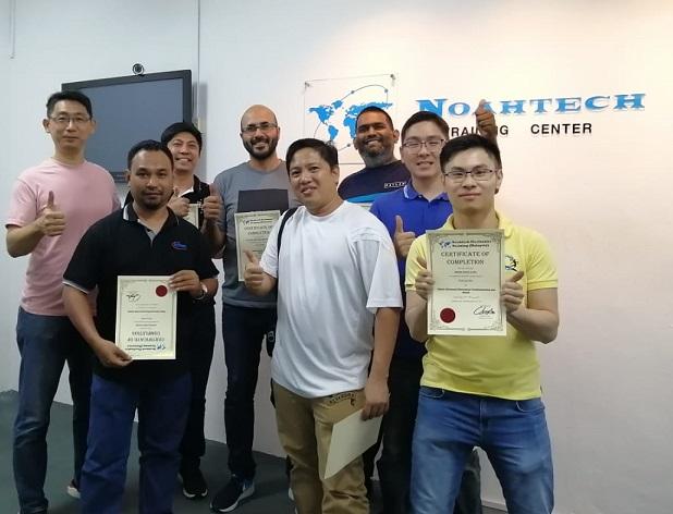 graduates from noahtech certificate course