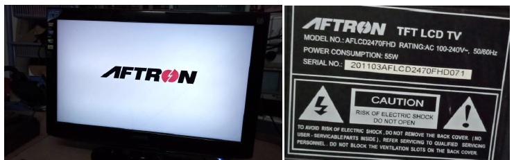 aftron lcd tv repair