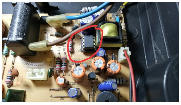 thx202h power ic induction cooker repair