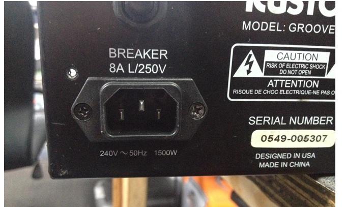kustom groove 1200 bass amp fix and repair