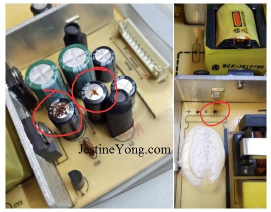 lcd power supply board repair