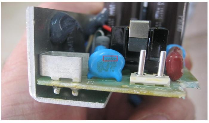 222m capacitor