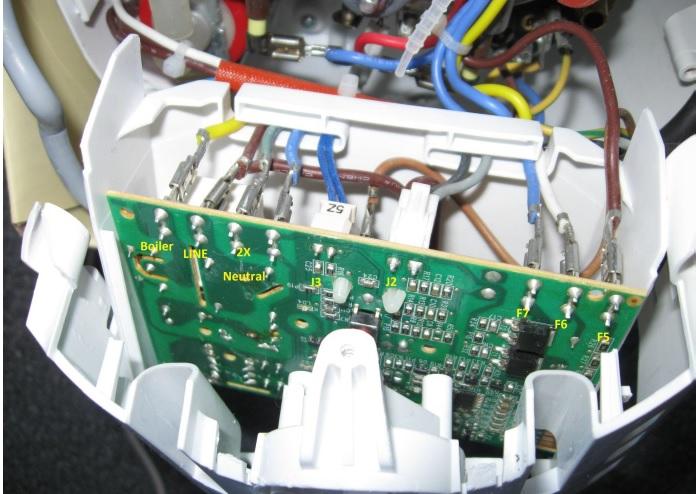 braun steamiron circuit board repair and fix