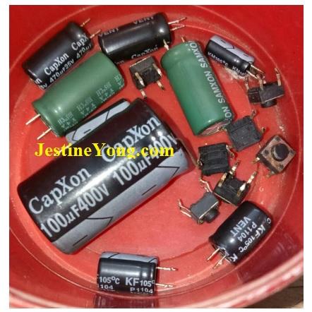 bad capxon capacitor
