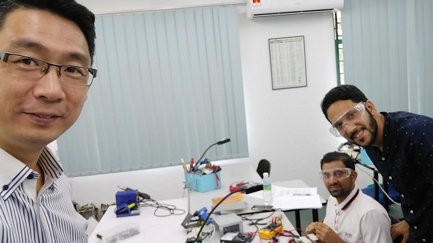 electronics repair course for oman