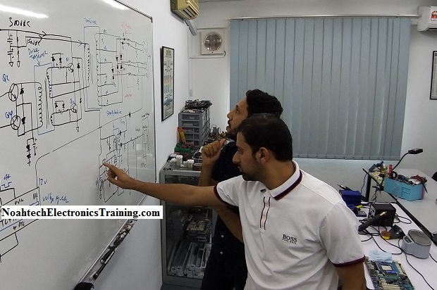 power supply repair for Oman students
