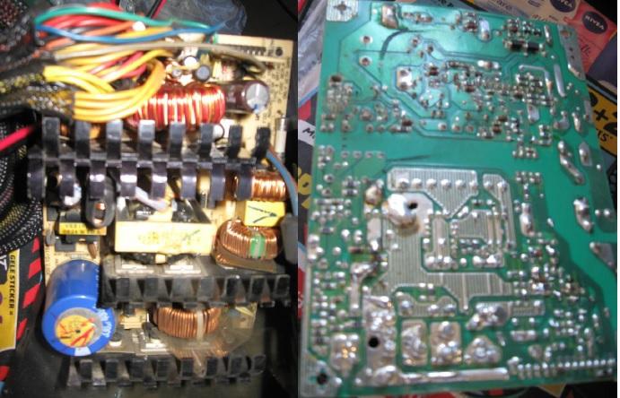 homemade op amp tester meter