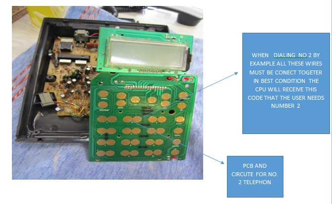 telephone circuit board repair