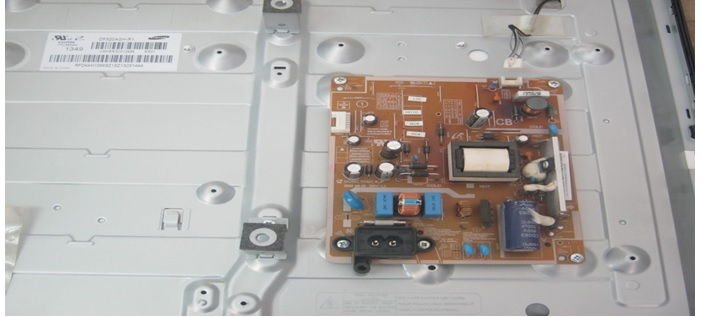 how to repair burnt led strip in samsung