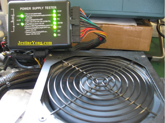 atx power supply tester and fix