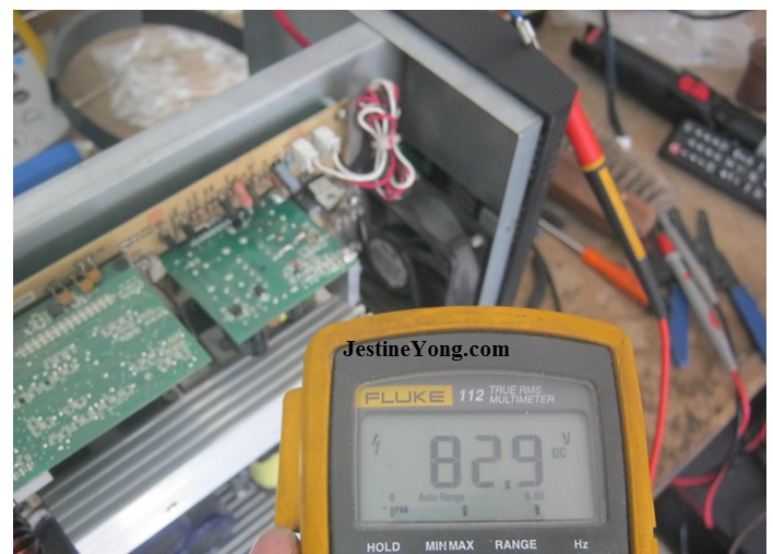multimeter reading fluke repair ups