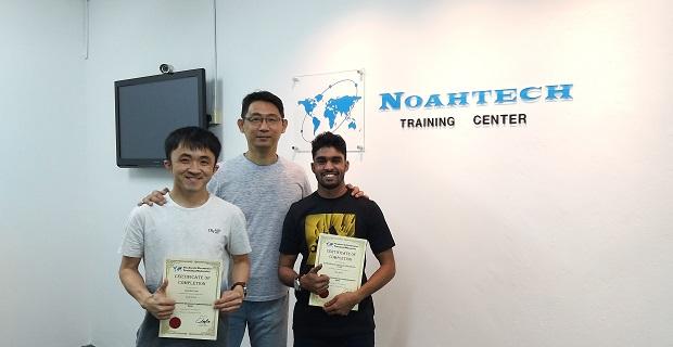 mauritius student learn electronics repair