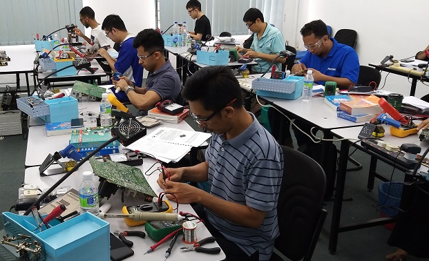 eletronics repair course in malaysia