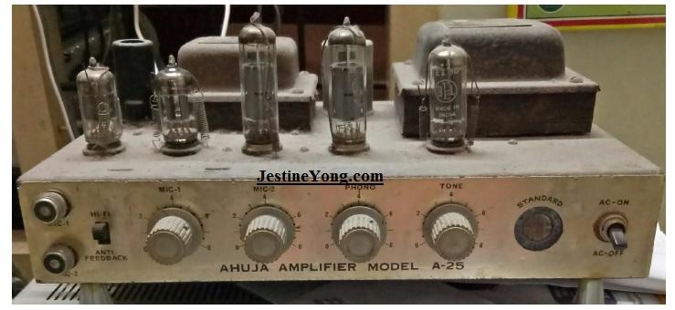 how to repair valve amplifier