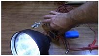 led spotlight repair
