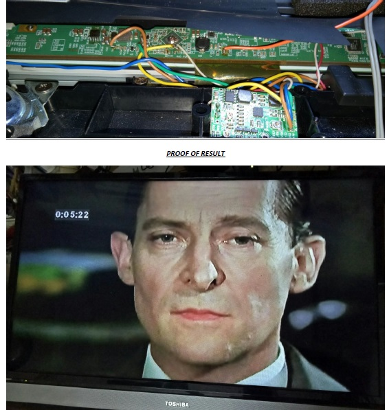 how to fix and repair led tv t-con board with bad ic