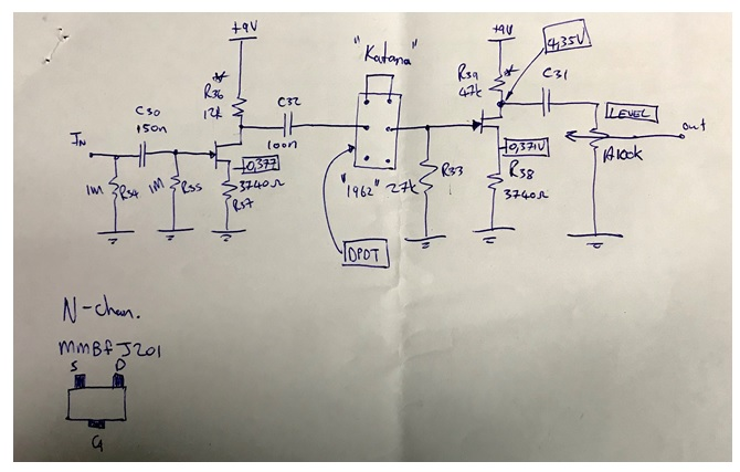 KEELEY TONEWORKSTATION REPAIR schematic