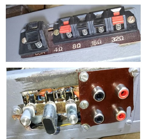 valve amplifier fixed and repair