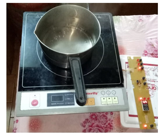 error 03 induction cooker fix