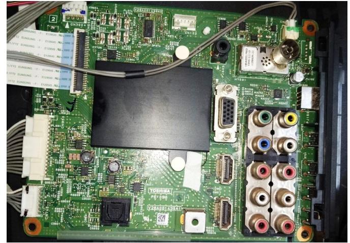 mainboard led tv repairing