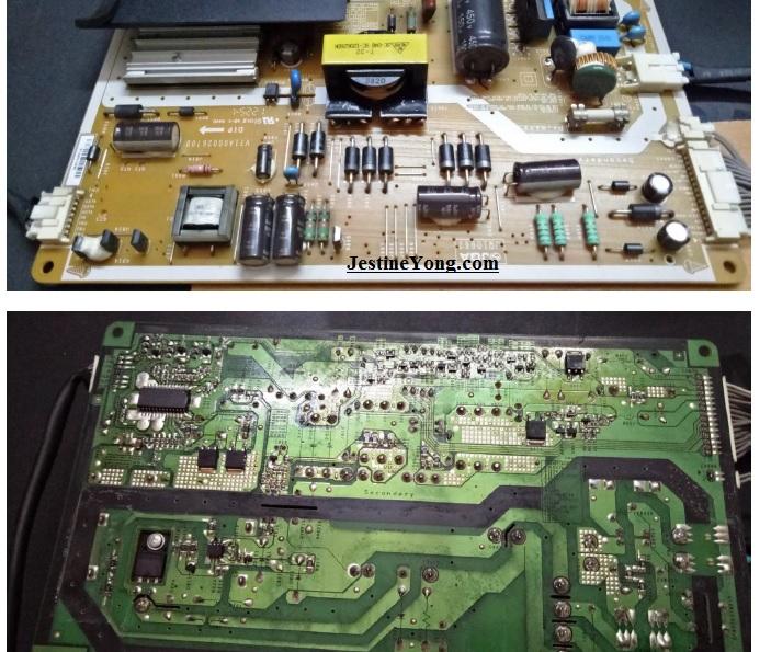 led tv power supply repair